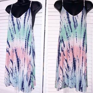 Boutique tie dye dress